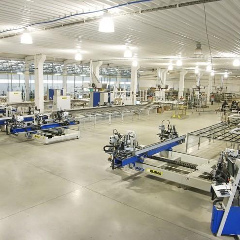 Завод по производству пластиковых окон