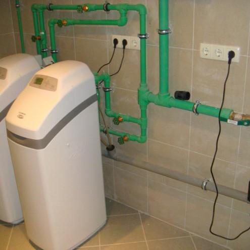 Система водоочистки в коттедже