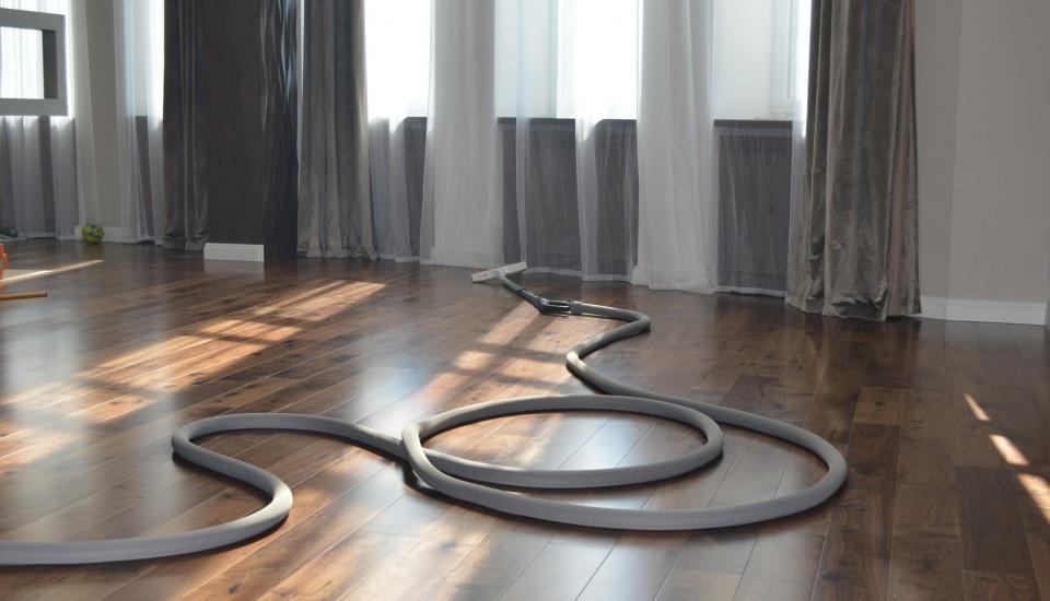 Встроенный пылесос в квартире