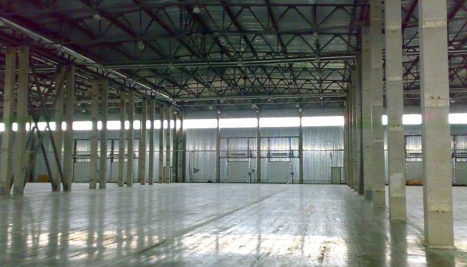 Монтаж системы отопления на складе класса А