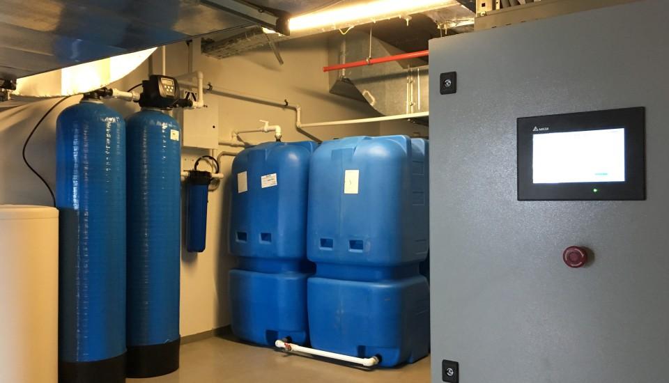 Система водоочистки для туманообразования